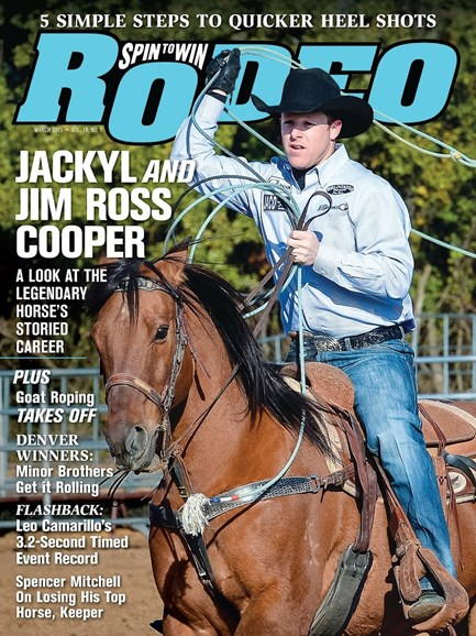 The Team Roping Journal Cover - 3/1/2015