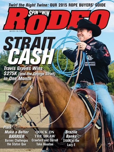 The Team Roping Journal Cover - 5/1/2015