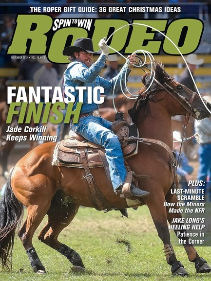 The Team Roping Journal Cover - 11/1/2015