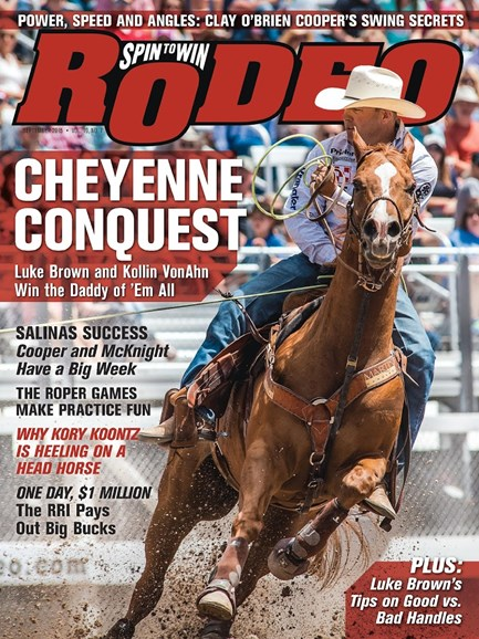 The Team Roping Journal Cover - 9/1/2015