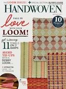 Handwoven Magazine 9/1/2017