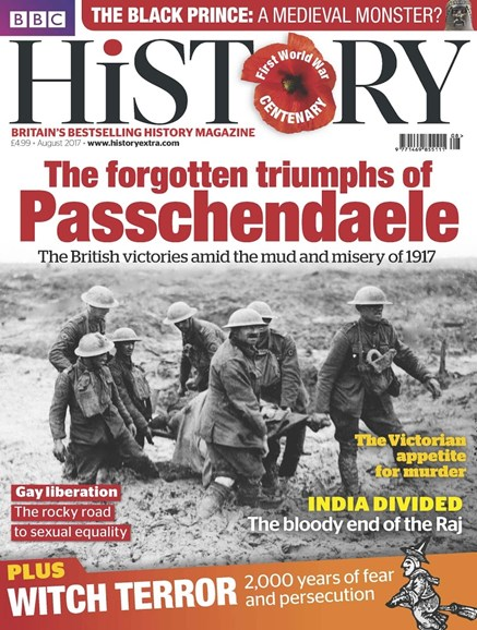 BBC History Cover - 8/1/2017