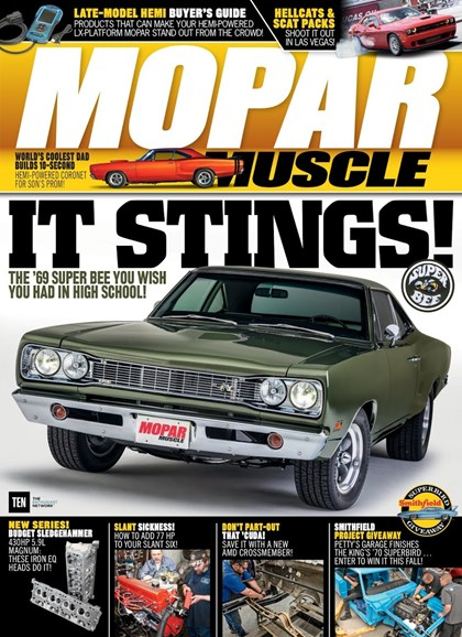 Mopar Muscle Cover - 10/1/2017