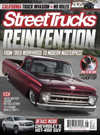 Street Trucks Cover - 8/1/2017