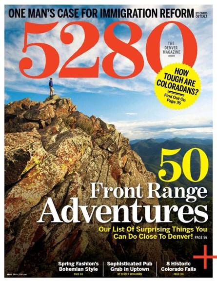 5280 Magazine Cover - 4/1/2015