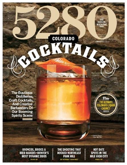 5280 Magazine Cover - 2/1/2014