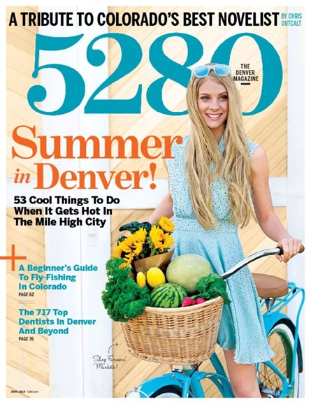 5280 Magazine Cover - 6/1/2015