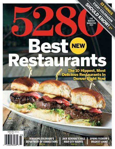 5280 Magazine Cover - 3/1/2014