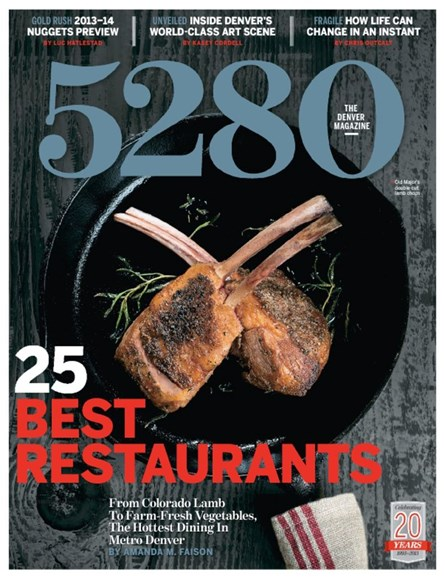 5280 Magazine Cover - 10/1/2013