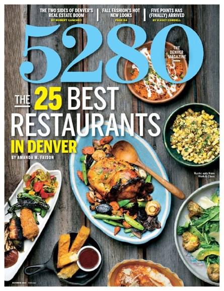 5280 Magazine Cover - 10/1/2015