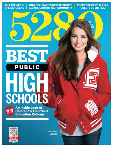 5280 Magazine Cover - 9/1/2013