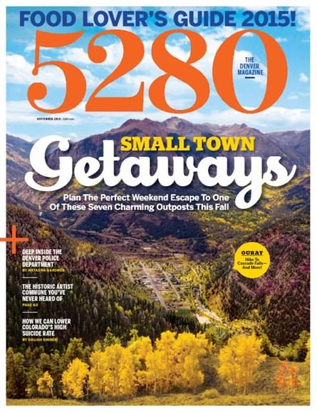 5280 Magazine Cover - 9/1/2015