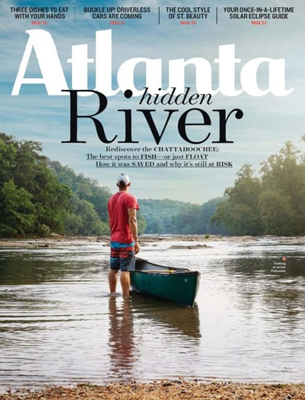 Atlanta Magazine Cover - 8/1/2017