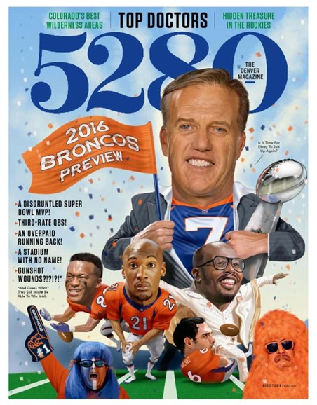 5280 Magazine Cover - 8/1/2017