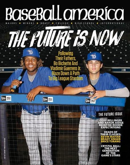 Baseball America Cover - 8/4/2017