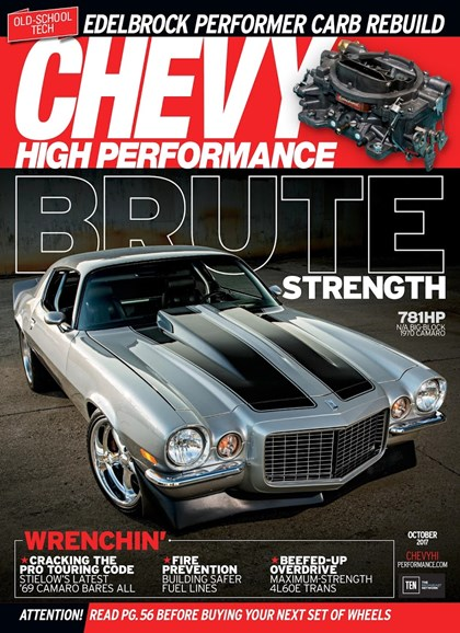 Chevy High Performance Cover - 10/1/2017