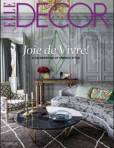 ELLE DECOR Cover - 9/1/2017