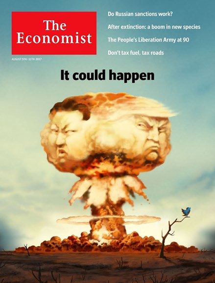 The Economist Cover - 8/5/2017