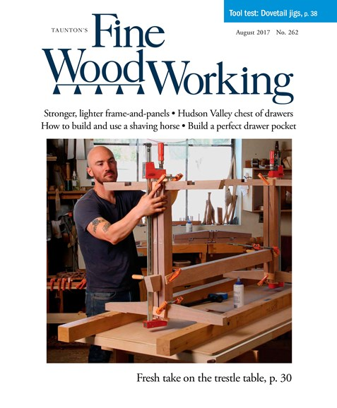 Fine Woodworking Cover - 7/1/2017