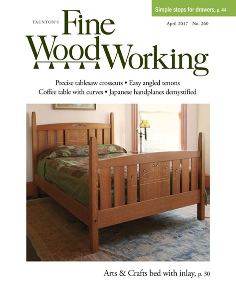 Fine Woodworking Cover - 3/1/2017
