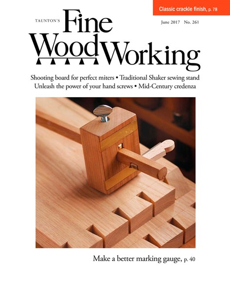 Fine Woodworking Cover - 5/1/2017