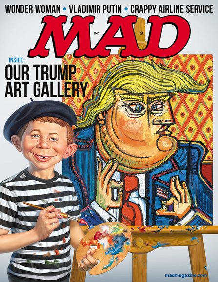 Mad Cover - 10/1/2017