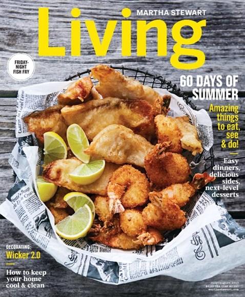 Martha Stewart Living Cover - 7/1/2017