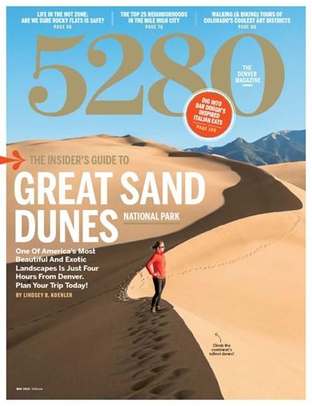 5280 Magazine Cover - 5/1/2016