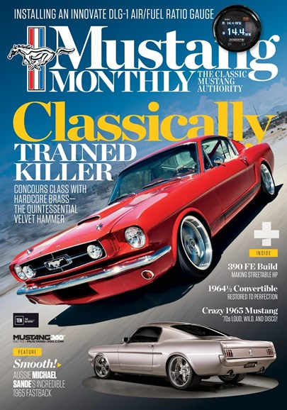 Mustang Monthly Cover - 9/1/2017