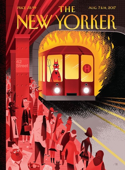 The New Yorker Cover - 8/7/2017