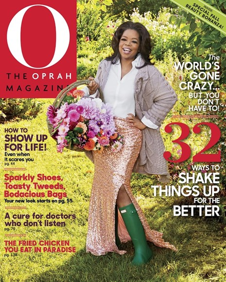 O The Oprah Cover - 9/1/2017