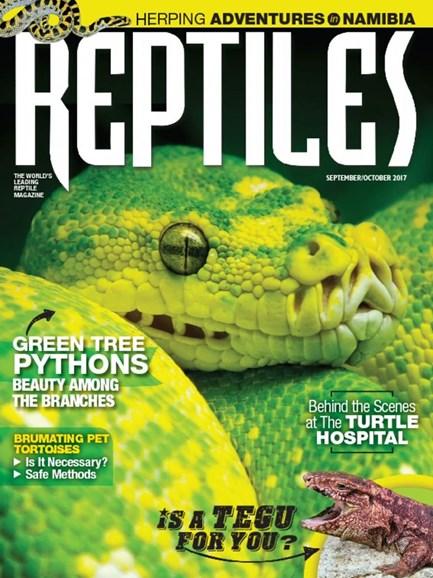 Reptiles Cover - 9/1/2017
