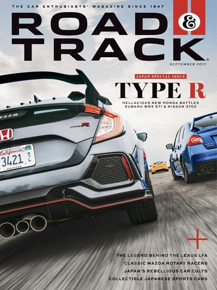 Road & Track Cover - 9/1/2017