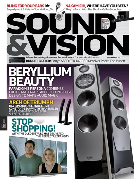 Sound & Vision Cover - 9/1/2017