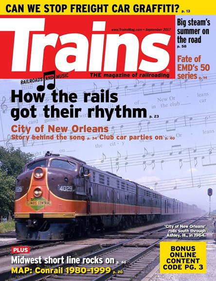 Trains Cover - 9/1/2017
