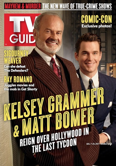 TV Guide Cover - 8/7/2017