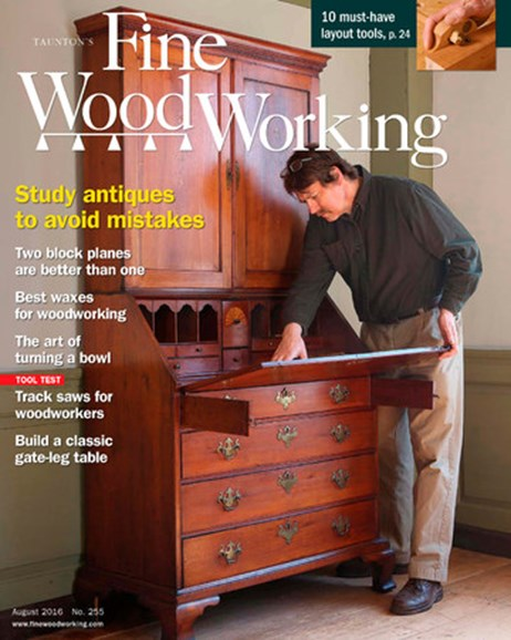 Fine Woodworking Cover - 7/1/2016