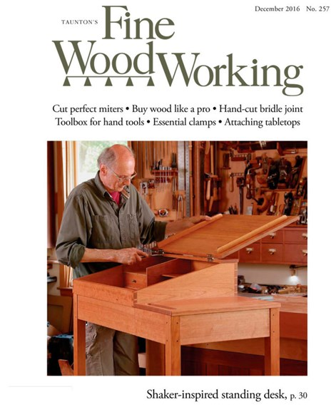 Fine Woodworking Cover - 11/1/2016