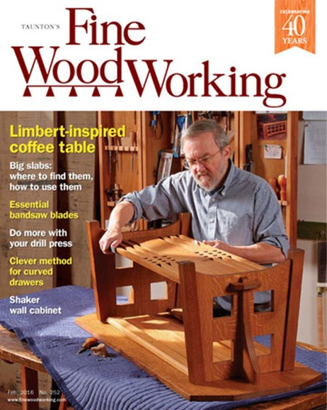Fine Woodworking Cover - 1/1/2016
