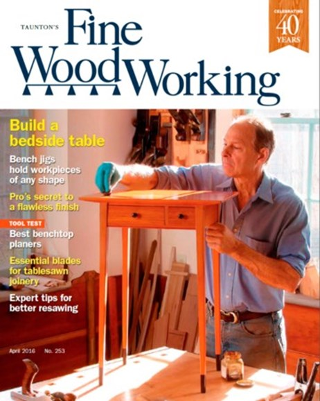 Fine Woodworking Cover - 3/1/2016