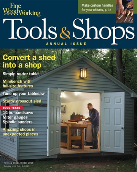 Fine Woodworking Cover - 1/1/2015