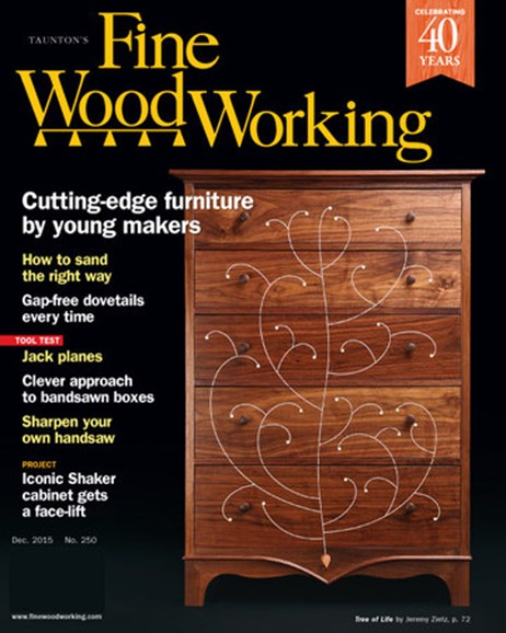 Fine Woodworking Cover - 11/1/2015
