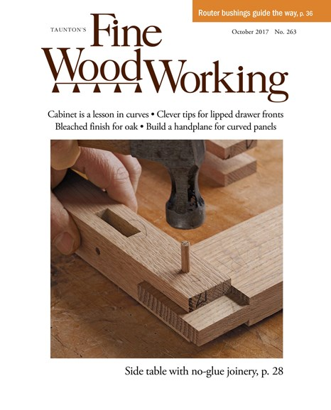 Fine Woodworking Cover - 9/1/2017