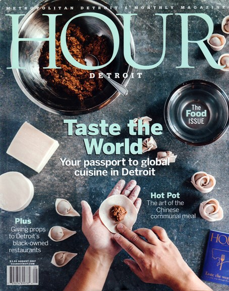 Hour Detroit Cover - 8/1/2017