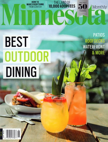 Minnesota Monthly Cover - 6/1/2017