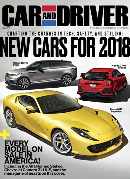 Car And Driver Cover - 9/1/2017