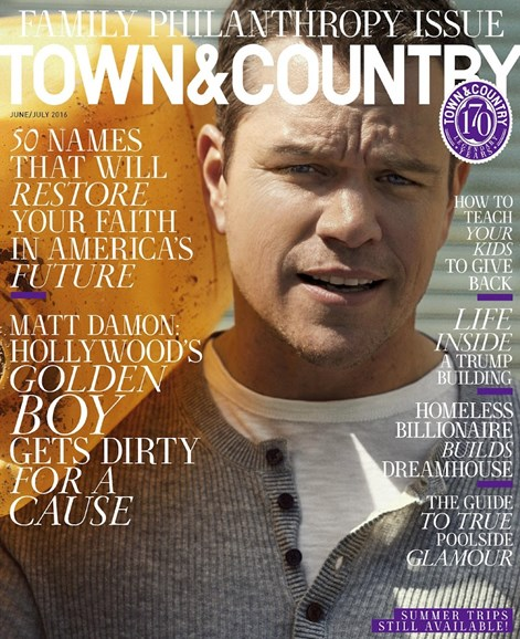 Town & Country Cover - 6/1/2016