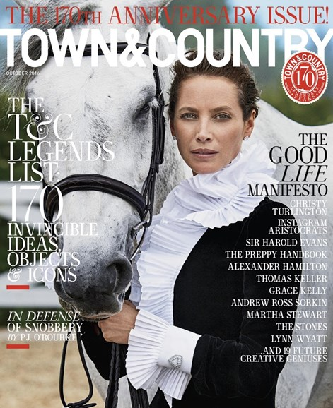 Town & Country Cover - 10/1/2016