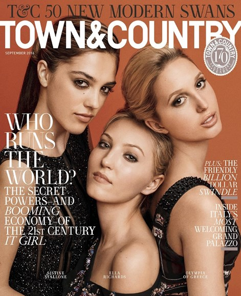 Town & Country Cover - 9/1/2016