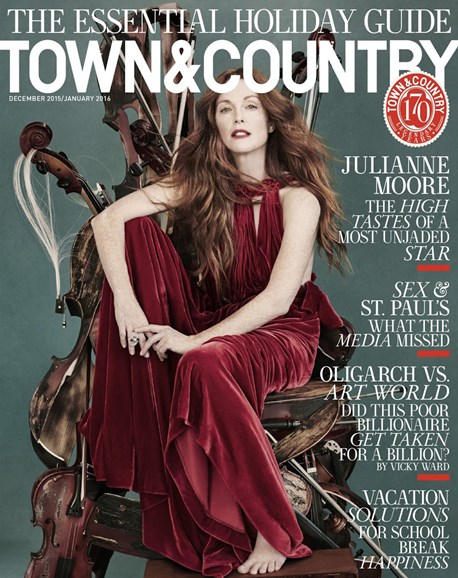 Town & Country Cover - 12/1/2015